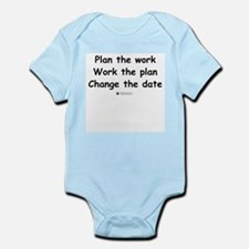 Plan the work -  Infant Creeper