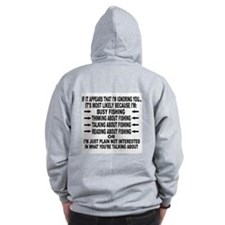 IF IT APPEARS THAT I'M IGNORING YOU - Zip Hoodie