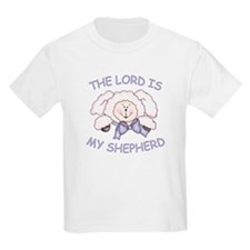 Lord is Shepherd (Lamb) Kids T-Shirt