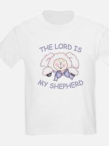 Lord is Shepherd (Lamb) Kids T-Shirt