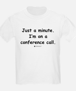 Conference Call -  Kids T-Shirt