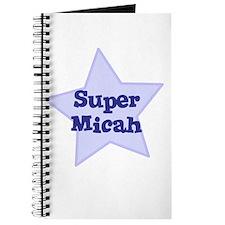 Super Micah Journal