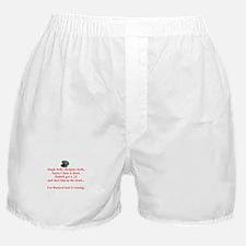 Santa's Dead Boxer Shorts