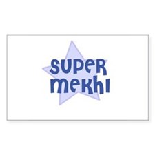 Super Mekhi Rectangle Decal
