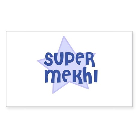 Super Mekhi Rectangle Sticker