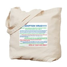 """Adoption Virus"" Tote Bag"