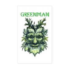 GREENMAN Rectangle Decal