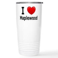 I Love Maplewood Travel Mug