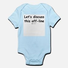 Discuss off-line -  Infant Creeper