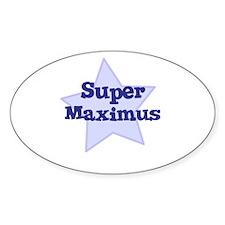 Super Maximus Oval Decal
