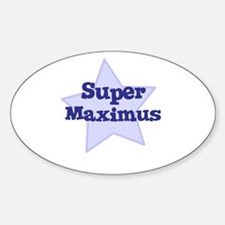 Super Maximus Oval Decal