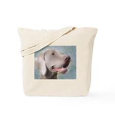 Alert Weimaraner Tote Bag