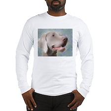 Alert Weimaraner Long Sleeve T-Shirt