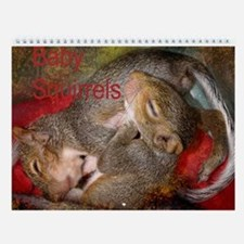 Funny Squirrels Wall Calendar