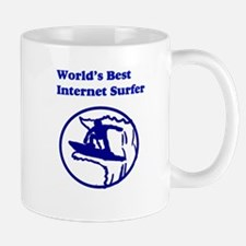 World's Best Internet Surfer Mug