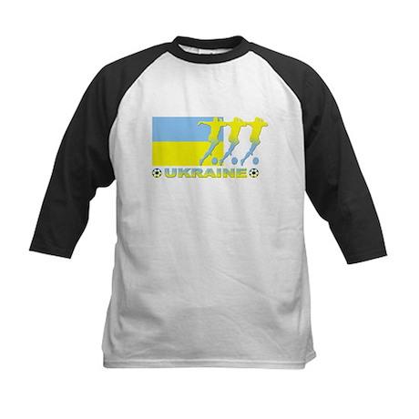Ukraine soccer Kids Baseball Jersey