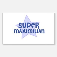 Super Maximilian Rectangle Decal