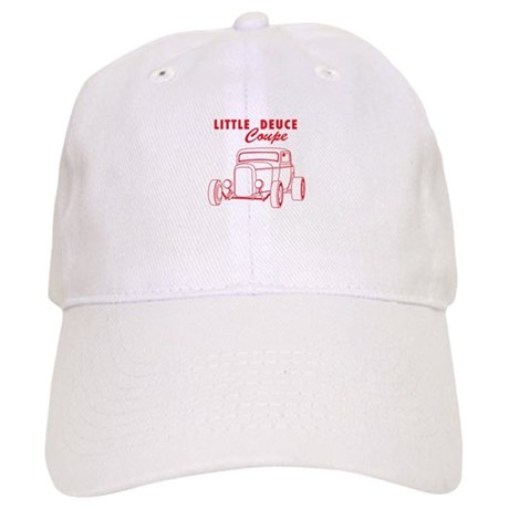 Hot Rod Ford Deuce Red Cap