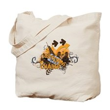 Storm Chaser Grunge Tote Bag