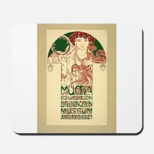 Alphonse Mucha Mousepad