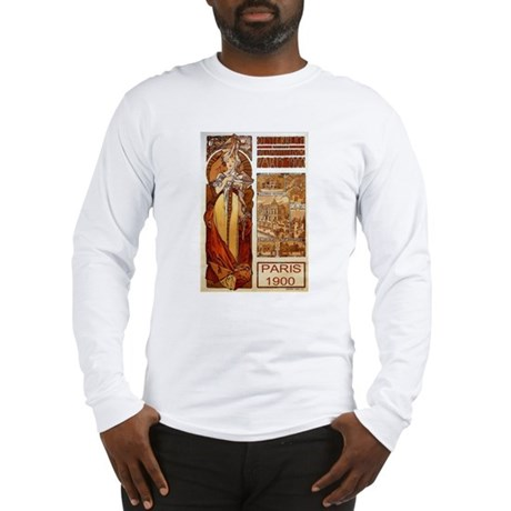 Alphonse Mucha Long Sleeve T-Shirt