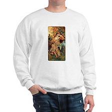 Alphonse Mucha Sweatshirt