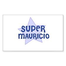 Super Mauricio Rectangle Decal