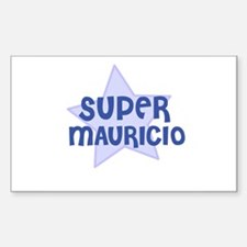 Super Mauricio Rectangle Decal