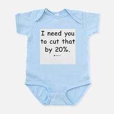Cut by 20% -  Infant Creeper