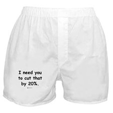 Cut by 20% -  Boxer Shorts