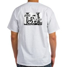 Mountain Unicycle (Ash Grey T-Shirt)