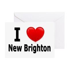I Love New Brighton Greeting Card