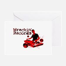 Wreckin' Records Greeting Card