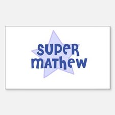 Super Mathew Rectangle Decal