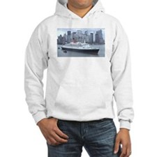 QE2 New York Final Departure Hoodie