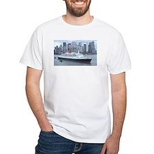 QE2 New York Final Departure Shirt