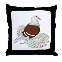 Saxon Shield Pigeon Throw Pillow