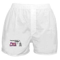 60s Gun Humor Boxer Shorts