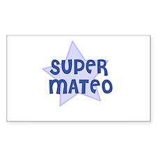 Super Mateo Rectangle Decal