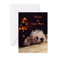Visions Of Sugar Plums - Greeting Cards (Pk of 20)