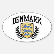 Denmark Oval Decal