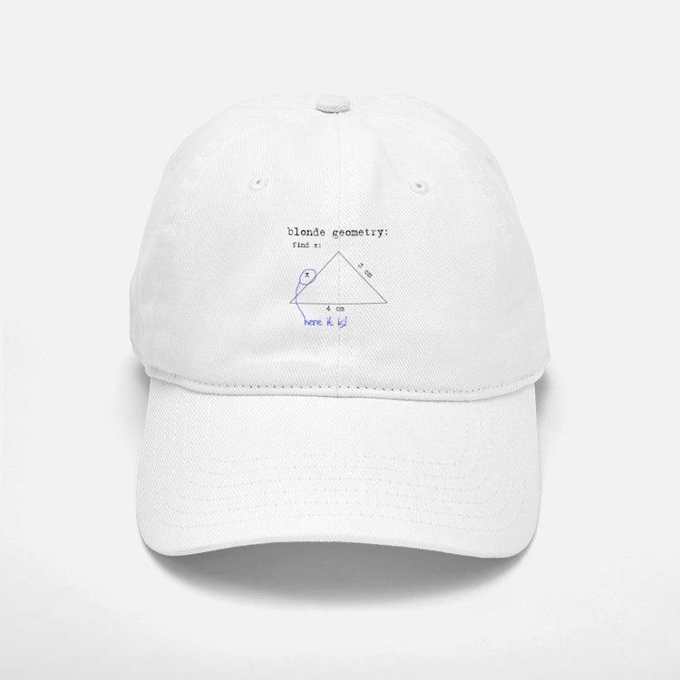 Blonde Geometry Baseball Baseball Cap