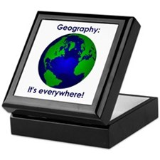 Geography Keepsake Box