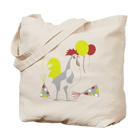 Party Foul/Fowl Tote Bag