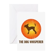 The Dog Whisperer Greeting Card