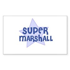 Super Marshall Rectangle Decal