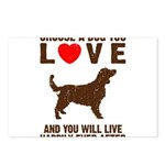 Choose a Dog You Love Postcards (Package of 8)