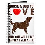 Choose a Dog You Love Journal
