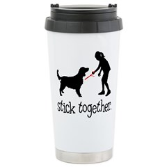 Stick Together Stainless Steel Travel Mug
