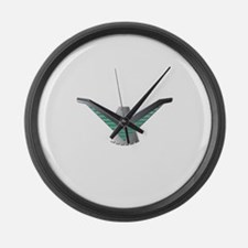 Thunderbird Emblem Large Wall Clock
